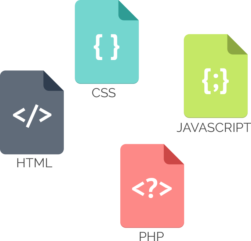 css php javascript e php